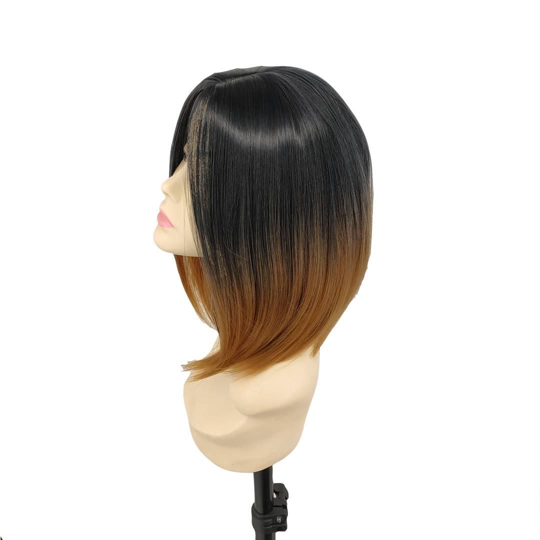 kısa küt bayan peruk sentetik peruk